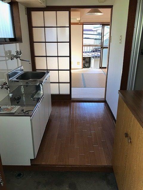 ハイツ若葉 201号室 キッチン