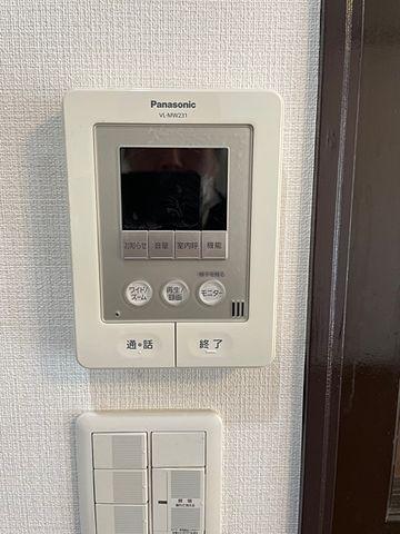 国分寺市東恋ヶ窪3丁目貸家 TVモニター付きインターホン