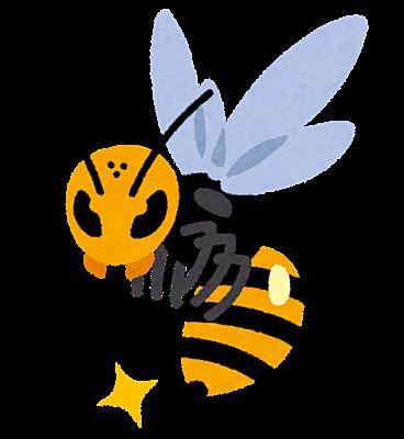 蜂の巣は早めに駆除しましょう。