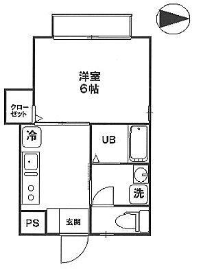 中央線国分寺駅徒歩2分 2012年9月築 プルムスハイム201号室間取図面