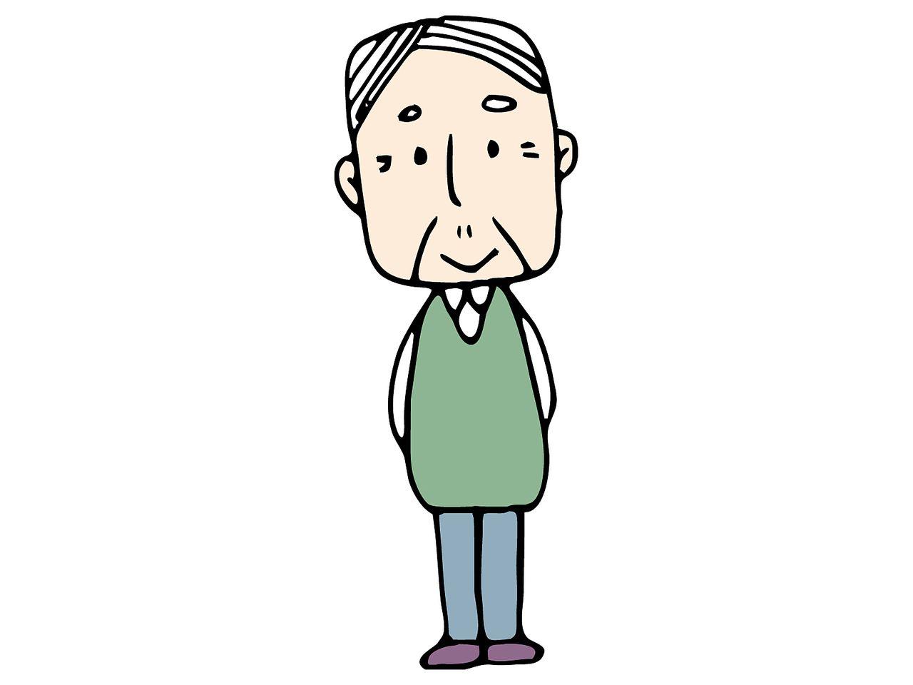高齢者の一人暮らしが増えています
