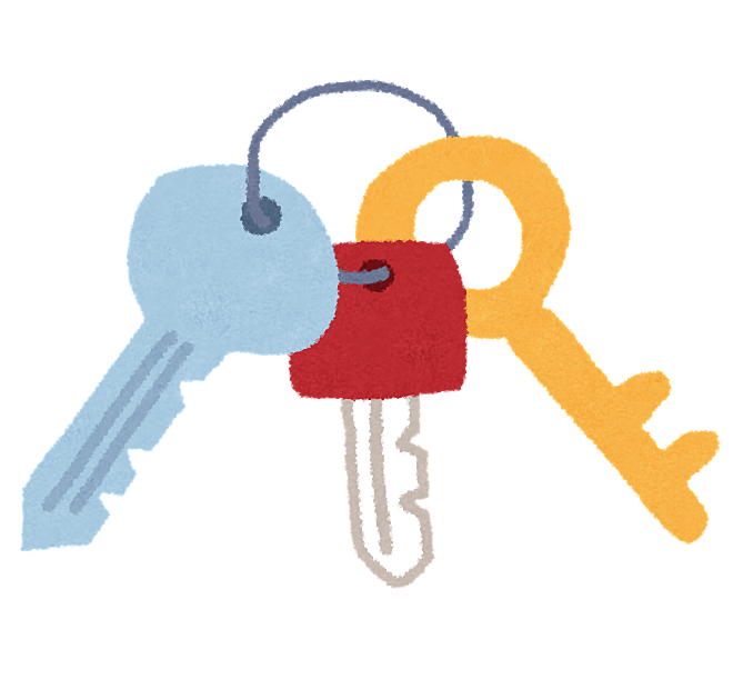 鍵の紛失した場合の対処 鍵の費用は借主負担