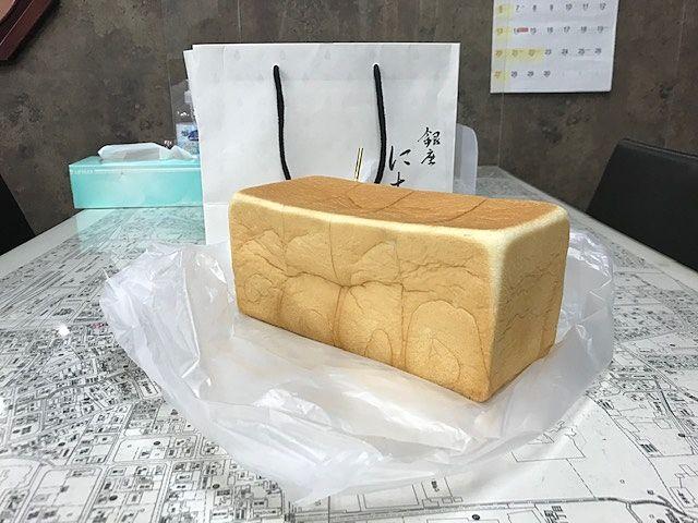 国立駅にある食パン専門店 「銀座に志かわ」