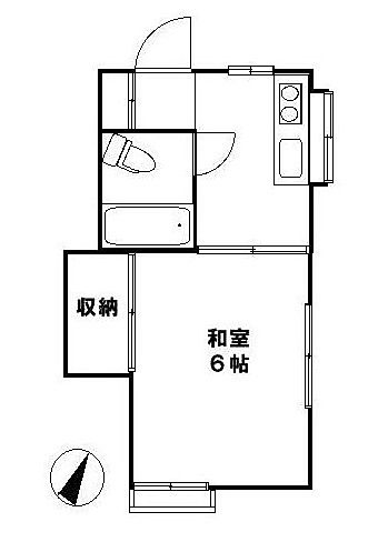 ティース国立202号室 3万円台のオススメ賃貸物件