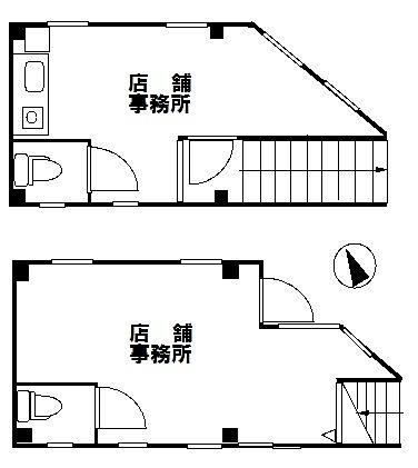 東京都武蔵野市境1-12-4 投資用物件販売 武蔵境駅徒歩5分 間取図