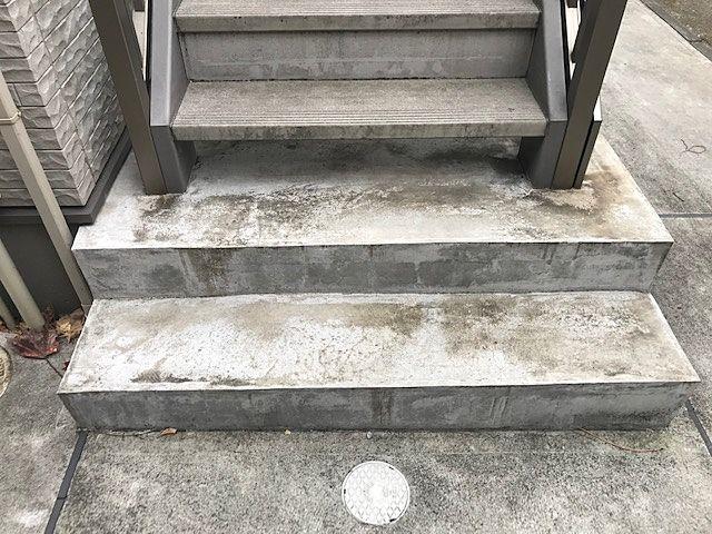 清掃前階段下